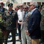 Με ΥΕΘΑ Δ. Αβραμόπουλο και στρατιωτική ηγεσία στη Ρόδο / 9-7-14