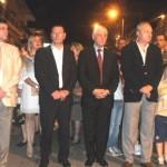 Περιφορά Ευαγγελιστή Λουκά στη Θήβα με Δήμαρχο Σπύρο Νικολάου και Δ. Συμβούλους