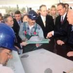 24/2/2006 ΕΑΒ (Θεμελίωση μονάδας Αεροκατασκευών από Πρόεδρο της Δημοκρατίας Κάρολο Παπούλια)