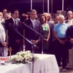 Ορκωμοσία Δημάρχου Τανάγρας Β. Περγάλια και Δ. Συμβουλίου από Αρχιεπίσκοπο κ.κ. Ιερώνυμο