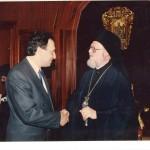 Κωνσταντινούπολη_Μετά την εκλογή του Οικ.Πατριάρχη κ.κ.Βαρθολομαίου_1991