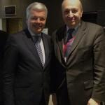 Με τον Αν. Πρωθυπουργό και Υπουργό Εξωτερικών του Βελγίου κ. Ρέϊντερς