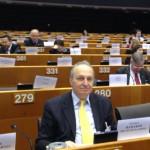Ομιλητής στο Ευρωπαϊκό Κοινοβούλιο
