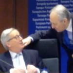 Με τον Πρόεδρο της Ευρωπαϊκής Επιτροπής κ. Γιούνκερ