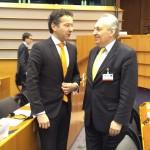 Με τον Πρόεδρο του Eurogroup κ. Ντάϊσελμπλουμ