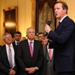 Με Πρωθυπουργό Μ. Βρετανίας Ντ. Κάμερον και Ευρ. Στυλιανίδη στην Πρωθυπουργική κατοικία στο Λονδίνο 2-9-14